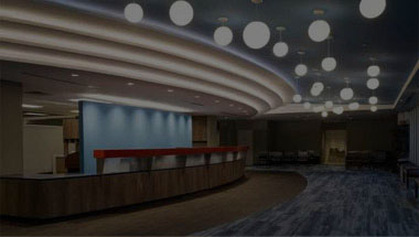 Image of a building lobby